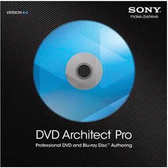 Sony dvd architect pro 6 discount