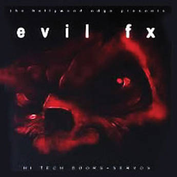 The Hollywood Edge Evil FX Sound Effects Library HE-EVIL-1644HDP