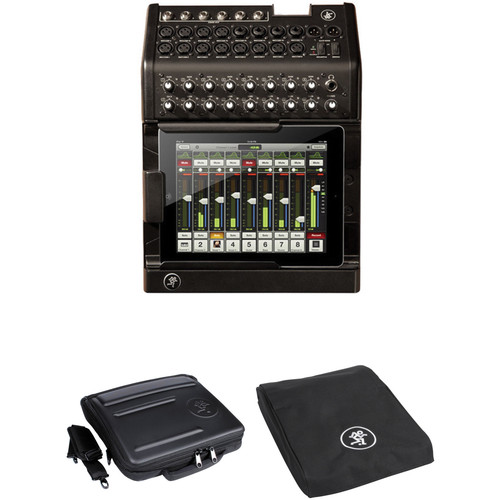 mackie dl1608 ipad controlled 16 channel digital mixer with bag. Black Bedroom Furniture Sets. Home Design Ideas