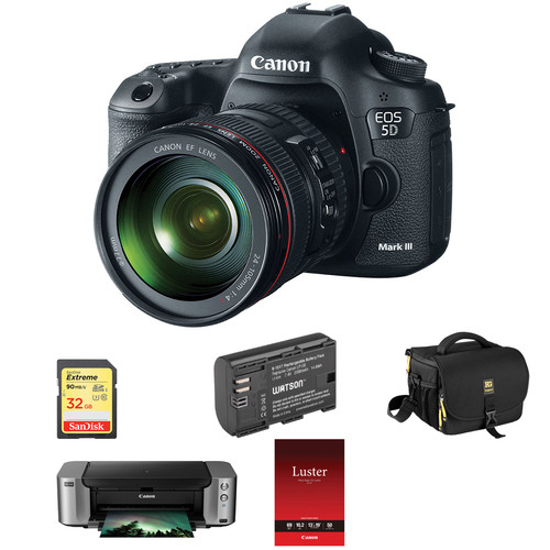 Canon EOS 5D Mark III DSLR Camera (Body Only) 5260B002 B&H ...