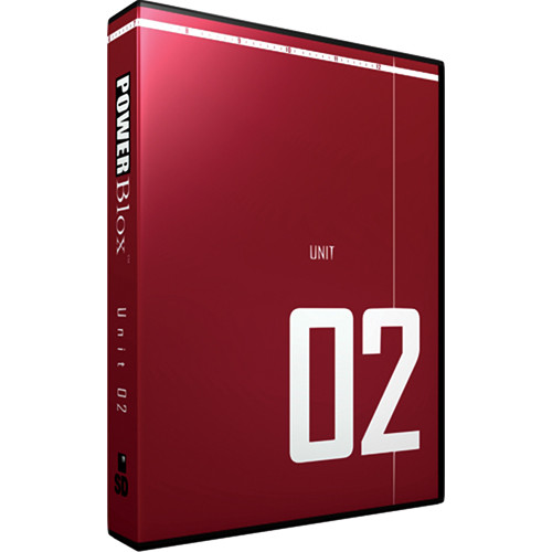 PowerBlox Unit 02 - General Purpose Royalty-Free Animated and Static Motion  Graphics Elements - NTSC - DVD