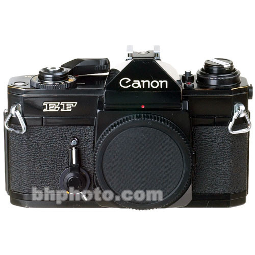 used canon ef 35mm slr manual focus camera with 50mm f  1 4 fd