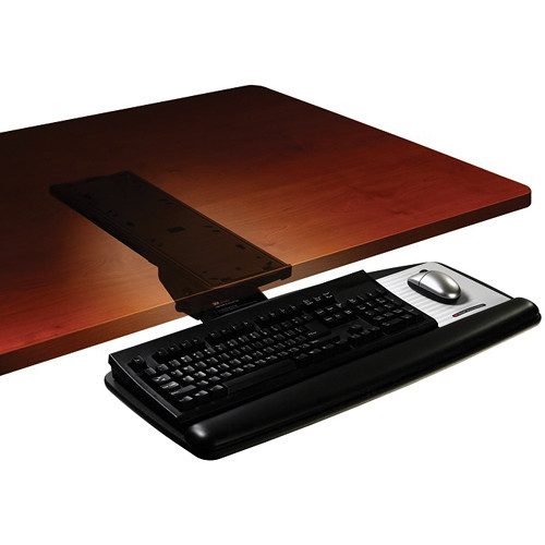3m Akt60le Adjustable Keyboard Tray With Knob Adjust Arm