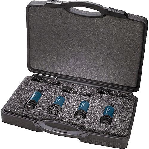 audio technica mbdk 4 dynamic drum microphone package mb dk4 b h. Black Bedroom Furniture Sets. Home Design Ideas