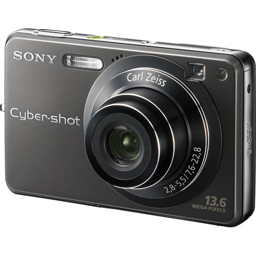 Sony Cyber-shot DSC-W300 Digital Camera (Black) DSCW300 B&H