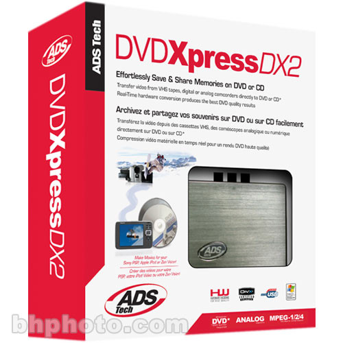 ADS USBAV 709 EF DVD XPRESS DX2 DRIVERS WINDOWS