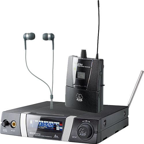akg ivm4 wireless in ear monitoring system 3054h00150 b h. Black Bedroom Furniture Sets. Home Design Ideas