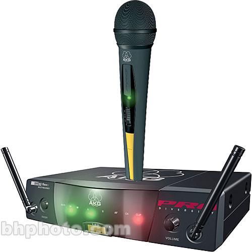 akg wms40 flexx wireless handheld microphone system 3109 x 01060. Black Bedroom Furniture Sets. Home Design Ideas