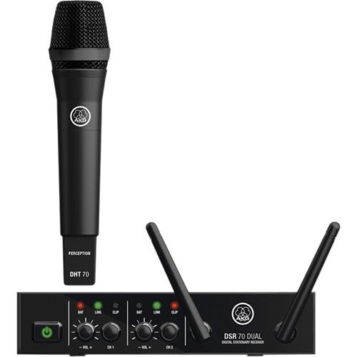 akg dms70 d vocal set digital wireless system 3358h00010 b h. Black Bedroom Furniture Sets. Home Design Ideas