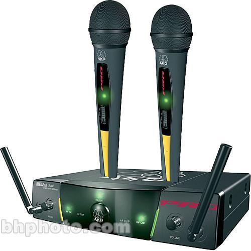 akg wms40 wireless handheld microphone system 7661 x 05120 b h. Black Bedroom Furniture Sets. Home Design Ideas