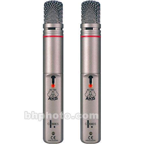AKG C 1000 S Stereo Twin Pack C1000STP B&H Photo Video