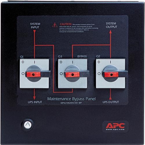 Apc Smart Ups Vt Maintenance Bypass Panel Sbpsu10k20hc1m1