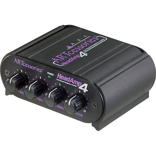 Art Headamp4 Four Channel Stereo Headphone Amplifier