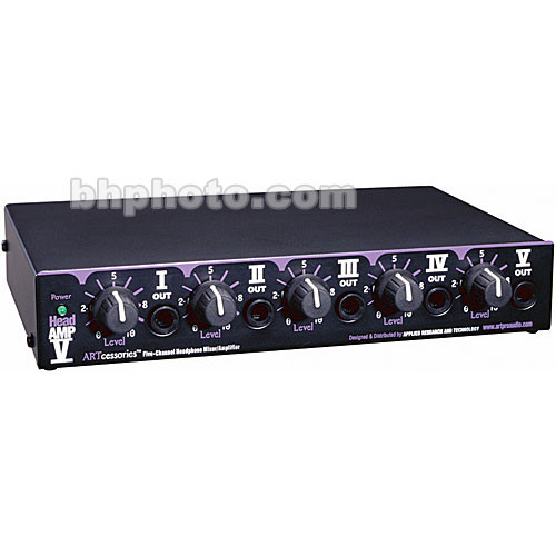 art headamp v headphone mixer amplifier headamp5 b h photo video. Black Bedroom Furniture Sets. Home Design Ideas
