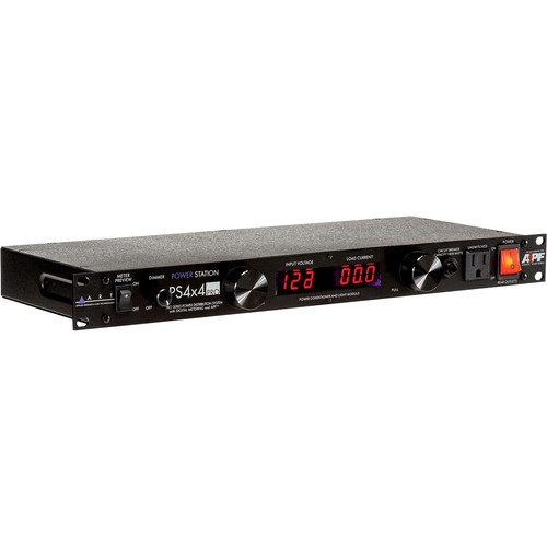 ART PS 4x4 Rackmount 8-Outlet Power Conditioner w/Volt ...: http://www.bhphotovideo.com/c/product/433050-REG/ART_PS4X4PRO_PS_4x4_Rackmount_8_Outlet.html