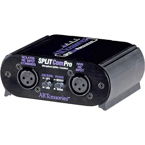 art splitcom pro microphone splitter combiner