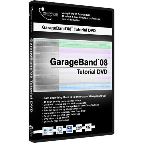 Ask Video Dvd Garab08 Garageband 08 Tutorial By Tony Garab08