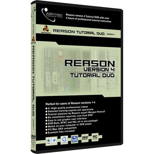 Reason 4 tutorial dvd ask video reason 4 tutorial dvd audiofanzine.