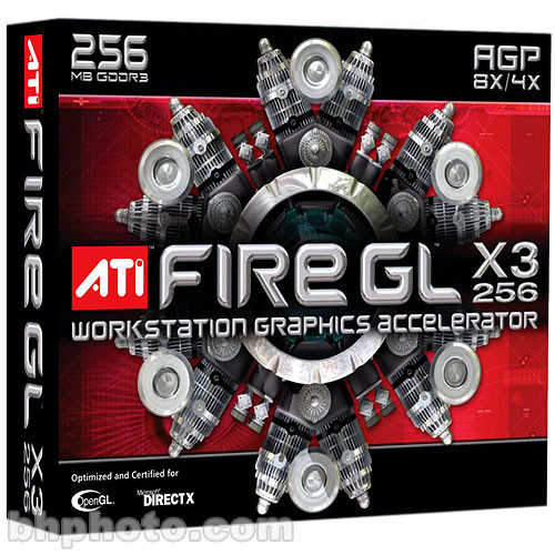 ATI FIREGL X3-256 DRIVERS WINDOWS