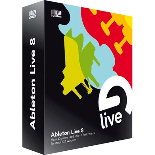 ableton live 8 music production software 84183 b h photo. Black Bedroom Furniture Sets. Home Design Ideas