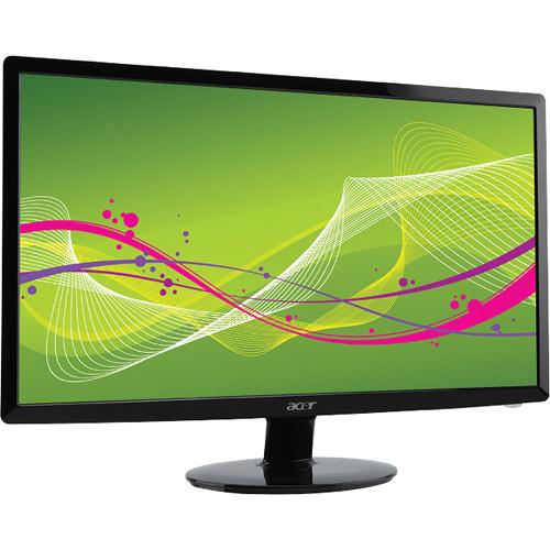 acer s200hl abd 20 widescreen led backlit lcd et ds0hp a01 rh bhphotovideo com Acer S200HL Driver Acer S200HL DVI Plug