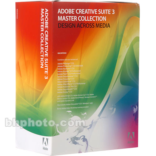 Adobe Upgrade to Master Collection CS3 Software Suite 19280058