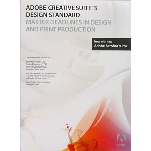 adobe design standard cs3 3 software suite for mac 88522