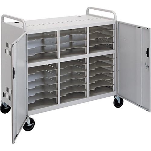 Bon Advance CT LS30 Laptop Storage Cart (Dove Gray)