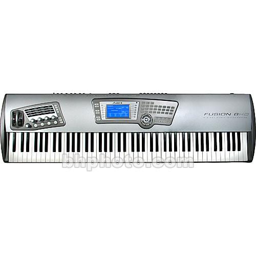 alesis fusion 8hd 88 note keyboard workstation fusion8hd b h. Black Bedroom Furniture Sets. Home Design Ideas