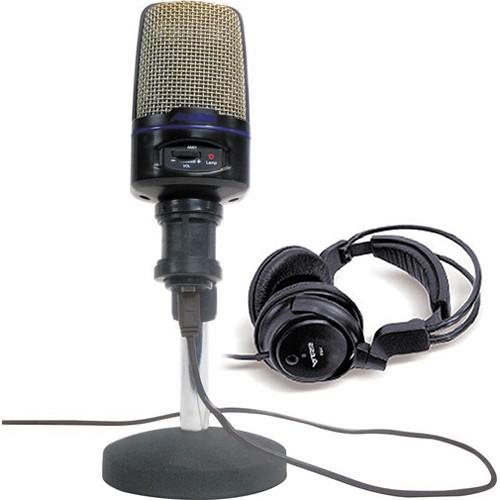 alesis usb microphone podcasting kit usb mic podcast kit b h. Black Bedroom Furniture Sets. Home Design Ideas