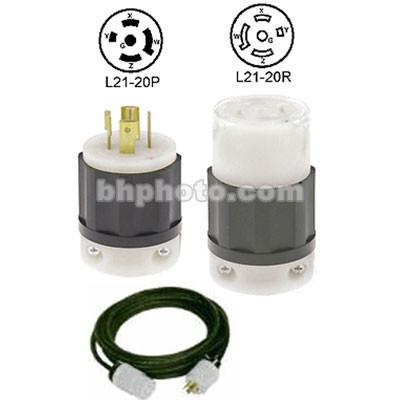 altman extension cable twist lock 25' 20 amps