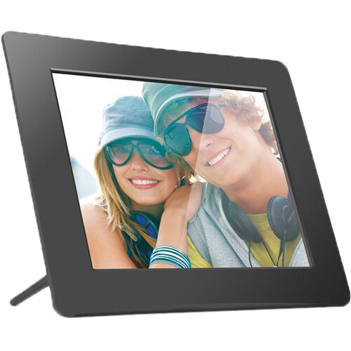 Aluratek Adpf08sf 8 Inch Digital Photo Frame Adpf08sf Bh Photo