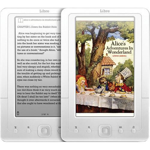 Aluratek AEBK07FS Libre I Color eBook Reader with 2GB AEBK07FS