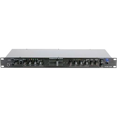 american audio m52 2 channel usb single space rack m52 usb mixer. Black Bedroom Furniture Sets. Home Design Ideas