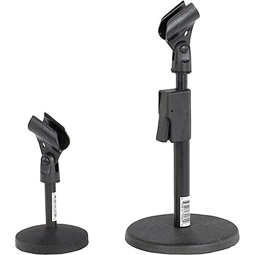 AmpliVox Sound Systems S1075 Desk Microphone Stand S1075 BH
