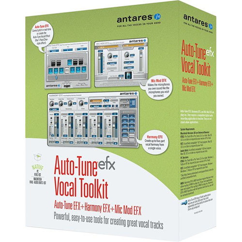 antares audio technologies auto tune efx vocal toolkit 39001. Black Bedroom Furniture Sets. Home Design Ideas