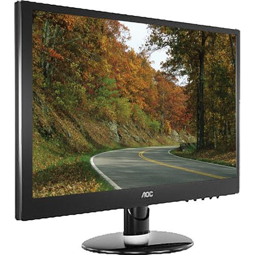 aoc e2352phz 23 lcd monitor piano black e2352phz b h rh bhphotovideo com AOC Computer Monitors AOC Portable Monitor