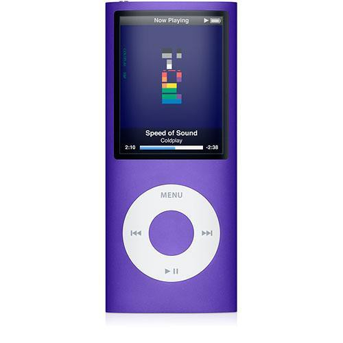 apple ipod nano 4th gen 8gb purple mb739ll a b h photo video. Black Bedroom Furniture Sets. Home Design Ideas