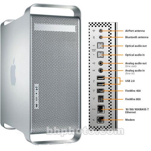 Apple Power-Mac G5 Dual 2GHz Computer, 512MB, 250GB, Z0AB-051DX