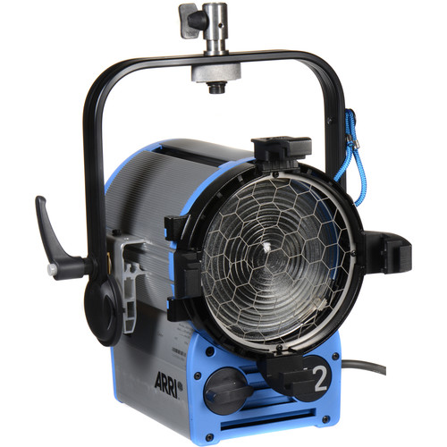 Arri t2 location fresnel 2000 watts stand mount for Location t2