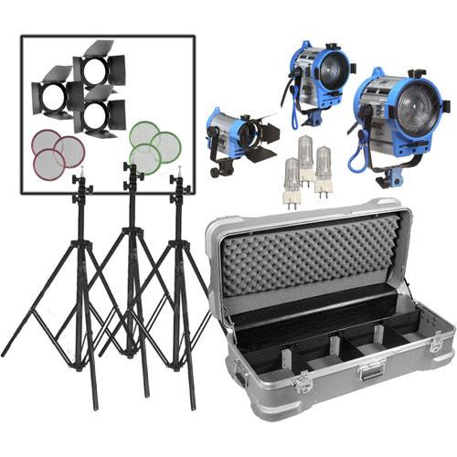 ARRI Compact Fresnel Three-Light Kit  sc 1 st  Bu0026H & ARRI Compact Fresnel Three-Light Kit LK.0005643 Bu0026H Photo Video