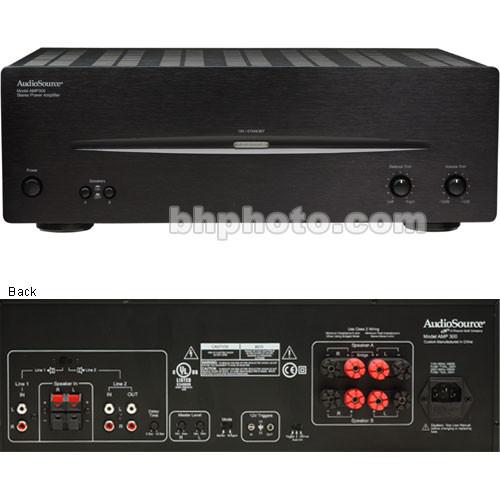 audiosource amp300 stereo amplifier amp300 b h photo video rh bhphotovideo com Power Amplifier High Current Amplifier Audio