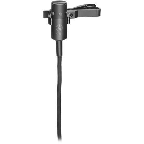 audio technica at831c miniature cardioid lavalier at831c b h audio technica at831c miniature cardioid lavalier microphone