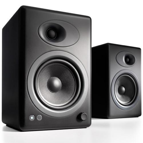 Audioengine A5 5 Active 2 Way Speakers Pair Black