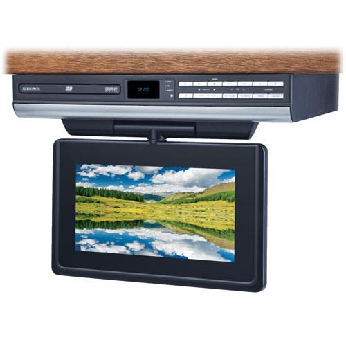 audiovox ve927 9 drop down lcd tv dvd player ve927 b h rh bhphotovideo com Kitchen Under Cabinet TV DVD Combo The Under Cabinet LCD TV
