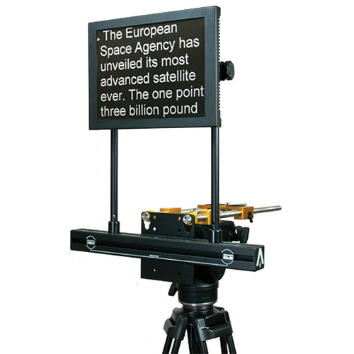 how to read a teleprompter naturally