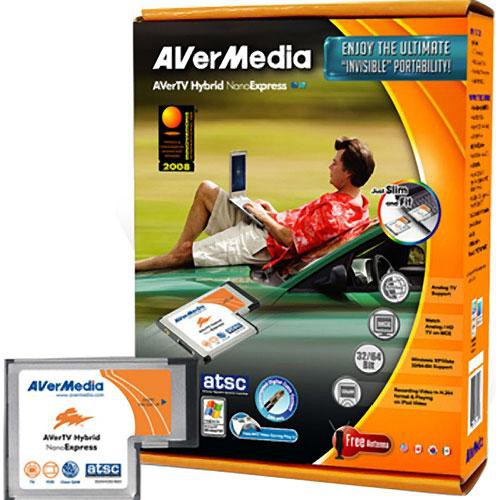 DRIVER FOR AVERMEDIA AVERTV HYBRID NANOEXPRESS