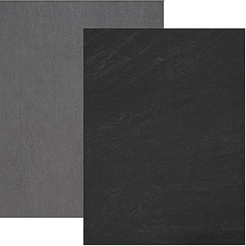 Backdrop Alley Reversible Muslin 10 X 12 Charcoal Gray Lighter