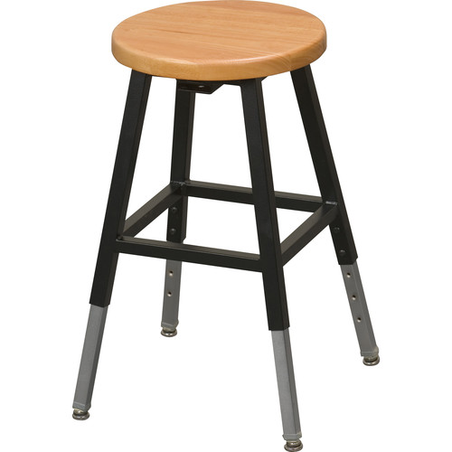 Balt 34441R Adjustable Height Lab Stool without Back (Black)  sc 1 st  Bu0026H & Balt 34441R Adjustable Height Lab Stool without Back 34441R Bu0026H islam-shia.org