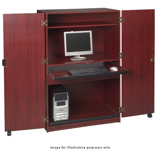 Balt Office In A Box Model 89832 Mahogany